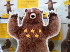 """The Bear with Five Stars"""