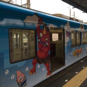 妖怪ウォッチの西鉄電車